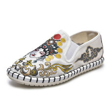 Men's Handmade Embroidery Couple Shoes Women's China Style Facebook Casual Shoes