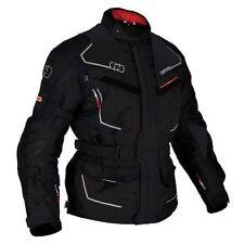 Blousons imperméable noir Oxford pour motocyclette