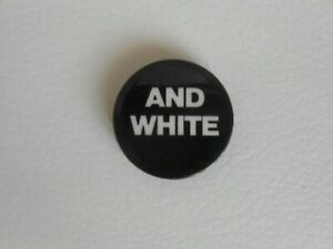 The Stranglers - Original Black & White 1978 PROMO Pin Badge  Punk Clash Pistols