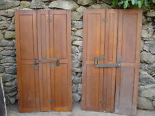 original wooden window shutters -MAY DELIVER