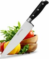 """Chef Knife 8"""" Cooking Knife Carbon Stainless Steel with Sheath Utopia Kitchen"""
