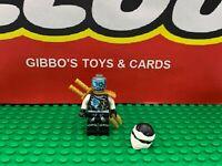 LEGO ZANE SKYBOUND + scabbard & swords minifigure NINJAGO set 70603 figure ninja