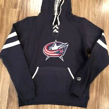 Old Time Hockey NHL Columbus Blue Jackets Womens Hoodie M