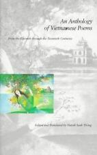 An Anthology of Vietnamese Poems: From the Eleventh through the-ExLibrary