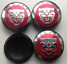 4 x 58mm JAGUAR Rot Red Nabenkappen Felgendeckel Allufelge Alloy Wheel Cap