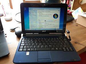 Acer Aspire One  KAV10 D150 Netbook 1.6GHz 1Gb RAM 150Gb Windows 7 fresh install