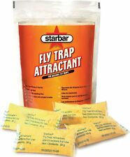 Starbar Fly Trap Attractant - Reusable Fly Traps (8x30 g) Water Soluable Pouches