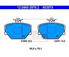 ATE 13.0460-3979.2 Bremsbelagsatz, Scheibenbremse   Smart Fortwo Coupe Cabrio
