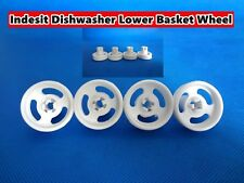 Indesit Dishwasher Spare Parts Lower Basket Wheel - White 4 pcs/set (D28)