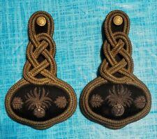 Pair - Indian Wars Ordnance Corps Shoulder Boards - Major - for Dress Uniform