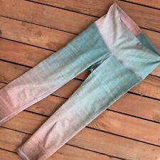 Niyama Sol Morroccan Mint Beachcomber Capri Legging S  EUC JLO Fave $88