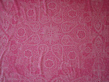 "LIBERTY OF LONDON TANA LAWN FABRIC  ""Nicholas James"" 2.4 METRES PINK (240 CM)"