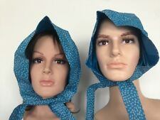 Pair of 1960's - 70's NYLEX Rain Hood - Protect Your Perm - Rare Quirky Product