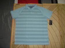 Mens Xlarge Nike Golf Pale Light Blue Talking Sticks Gc Polo Shirt - Nwt