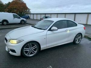 BMW 2 SERIES F22 M SPORT FRONT END BREAKING