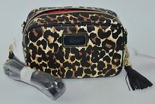 VICTORIA'S SECRET CHEETAH LEOPARD CROSSBODY PURSE HANDBAG BEAUTY SHOULDER BAG