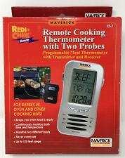 Maverick ET-7 Remote Redi-Chek Dual Probe Cooking Oven Smoker Meat Thermometer