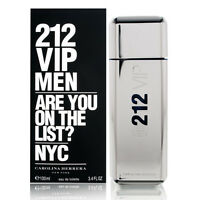 212 VIP MEN de CAROLINA HERRERA - Colonia / Perfume 100 mL  Hombre / Uomo CH NYC