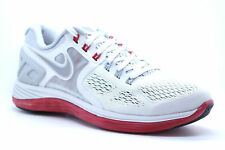 NEW IN BOX Nike Lunareclipse 4 Grey/Red Size 7.5 Running Shoes Mens