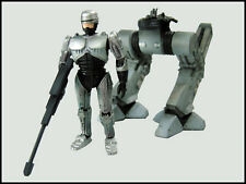 Kotobukiya Robocop Trilogy One Coin Trading Figure Robocop w/ Damaged ED-209