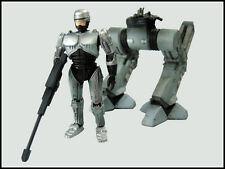 Kotobukiya Robocop Trilogy One Coin Trading Figure Robocop w/ Damaged ED-209