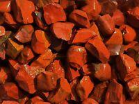 1/2 lb RED JASPER  Bulk Tumbling Rough Rock Stones Healing Crystals India FS