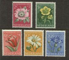 NVPH 583-587 Zomer 1952 postfris (MNH)
