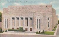 Postcard Auditorium Indiana University Bloomington IN