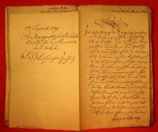 """Marggrafthum Oberlausitz 1789 """"Für den Fall der Mobilmachung der Armeen erforder"""