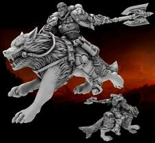 Heresy Lab Miniatures Imperial Marines Wolf Fang Female-Space Wolf Riding