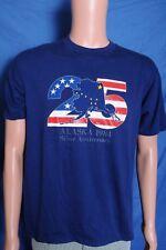 Vintage '80s 1984 Alaska 25 Silver Anniversary souvenir blue t shirt M