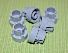 (6) 2x2 Light Gray Sprocket Wheel Technic Bricks  ~ Lego ~ NEW ~