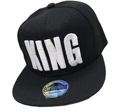 Original Snapback Cappy Cap Kappe Mütze Trucker Basecap US Style King Schwarz