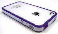 Indigo Protector Bumper Frame Case Cover for AT&T Verizon Sprint iPhone 4S 4