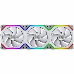 Lian Li UNI FAN SL120  120mm aRGB Case Fan - 3-Pack - White