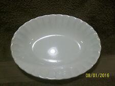Vintage W. S. George White Bolero Oval Serving Bowl