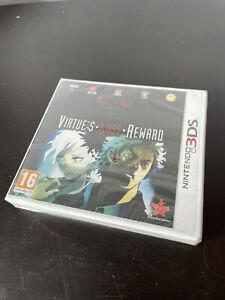 Virtues Last Reward - Nintendo 3DS Brand New Sealed