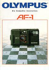 OLYMPUS Katalog AF-1 B1694