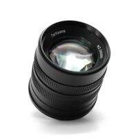7artisans APS-C 55mm F1.4 Manual Fixed Lens for Fuji X Mount Cameras+ Lens Pouch