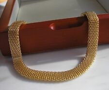 Ladies Stamped 18ct Bracelet gf,Almost Sold Out! from 9ct gold bling ref 45