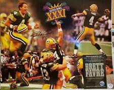Brett Favre Signed Green Bay Packers 16x20 Photo Favre COA