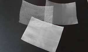 Aluminium Modelling Mesh Coarse Medium And Fine Appox 15cm By 20cm Sheets
