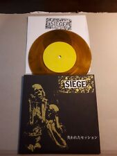 """SIEGE lost session 7"""" limited 100 anal cunt spazz meat shits fear of god"""