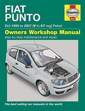 Fiat Punto Haynes Car Service & Repair Manuals
