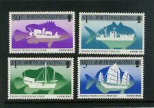 HONG KONG 1986  Fishing vessels  Set of 4  SG 521-524 MNH / UMM (S*-10)