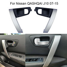 1Pair Car Inside Door Handles Left Right Side fits 2007-2015 Nissan QASHQAI J10
