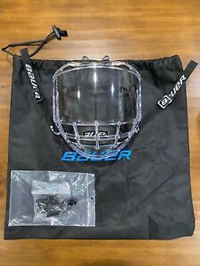 Bauer Concept 3 Senior Full Face shield *Never Used*