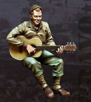 1:35 Resin Nam War US G.I. w/Guitar Unpainted Unassembled BL386