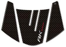 ADESIVO CODINO in resina gel 3D compatibile per scooter Kymco AK 550 carbon look
