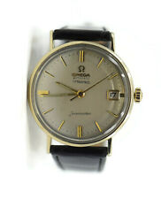Omega Seamaster CAL 560 Tiffany & Co 14K Yellow Gold Watch KL6610